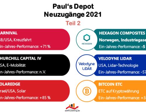 Paul's Depot | Neuzugänge 2021 Teil 2